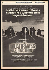 THE QUATERMASS CONCLUSION__Original 1980 Trade Print AD poster_BARBARA KELLERMAN