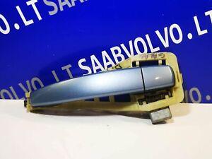 SAAB 9-3 Right Side Door Exterior Handle blue 12779124 12780128 2008 11550500