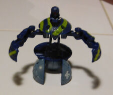 BAKUGAN Baku Sky Raiders Blue Green Aquos Bakucamo JAAKOR 1010g Jumps in Air