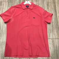 Faconable Red Polo Shirt Classic Fit Sz XL
