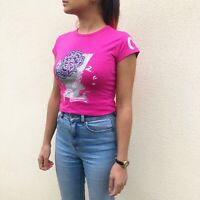 Vintage Evisu Top In Pink New With Tags Womens Small