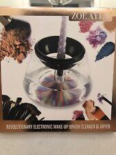Makeup Brush Cleaner Zoe Ayala Revolutionary Electronic & Dryer 8 Flexible Fit
