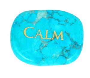 Power Palm Stone Pebble Smooth Pocket Gemstone Healing Worry Meditation Crystal