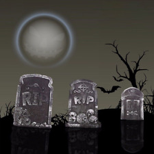Tombstones Halloween Prop Decoration Haunted Spooky Decor House Outdoor Indoor