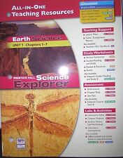 Earth Science: All-In-One Teaching Resources (Unit 1 Ch. 1-7)  013190311X