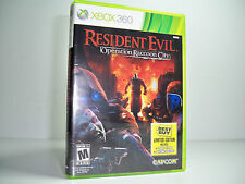 RESIDENT EVIL OPERATION RACCOON CITY XBOX 360 100% COMPLETE NO SCRATCHES