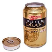 Miller Genuine Draft secret trick beer can safe hide valuables diversion MGD