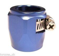 AN -6 (AN6) 12.5mm Blue TEFLON Fuel Hose Clamp Finisher
