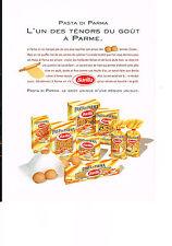 PUBLICITE ADVERTISING  advertising 1999   BARILLA  pates alimentaires
