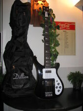 Dillion'' Bass Guitar model DRK4 0II black  AWESOME LEGENDARY MODEL