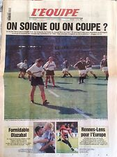 L'Equipe Journal 13/4/1999; le XV de France et la coupe du monde/ Olazabal/ Renn