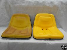 YELLOW SEAT JOHN DEERE 110,112,120,140,210,212,214,216,300,314,317 MOWERS  #BZ