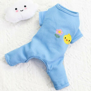 XS S M Pet Dog Jumpsuit Pajamas Clothes Puppy Costume Coat Apparel Maltese Kitty