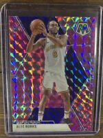 2019-20 Panini Mosaic Basketball Pink Prizm #120 ALEC BURKS Warriors Card NBA SP