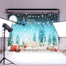 7x5FT Christmas Gifts Photography Background Vinyl Studio Photo Prop A+ D