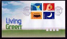 2008 Australia Living Green Block Of 4 FDC, Mint Condition