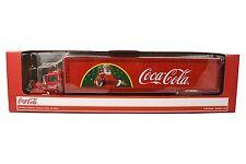 Coca Cola Christmas Light-up LED Die-Cast Truck
