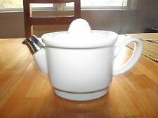 Vintage DON STAKUPS Teapot for one by HALL chrome on end of spout w/lid
