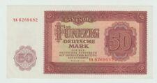 DDR: 50 Deutsche Mark von 1955, Austauschnote