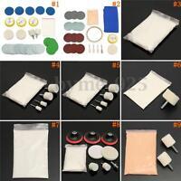 9 Types Car Glass Scratch Remover Cerium Oxide Powder Wheel Felt Pad Polishing