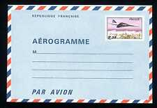 FRANCIA - 1980 - Aerogramma - Busta - Aereo che vola su Parigi. E4964