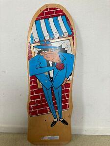 Vintage 1980s Variflex Skateboard deck Gangster Old School 80s