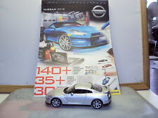 NISSAN GT-R DESIGN MASTERS SKETCHBOOK & 1:43 MODEL SILVER + FAST & FURIOUS BOOK