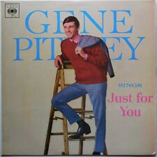 GENE PITNEY - Sings Just For You - 1965 Reissue - CBS  BP233251 MONO-OZ pressing