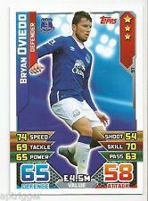 2015 / 2016 EPL Match Attax Base Card (97) Bryan OVIEDO Everton