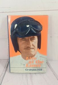 Graham Hill - Life at the Limit Hand Signed-1972- William Kimber Rare VGC Book