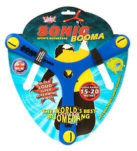 Wicked Sonic Boomerang Flying Sports Toy