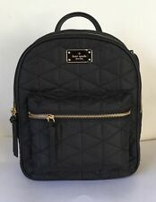 Authentic KATE SPADE Small Bradley Wilson Road Quilted Backpack, NWT