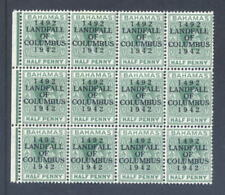 4 Stamps British Colonies & Territories Stamp Blocks