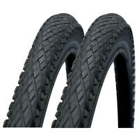 "Impac Crosspac 26"" x 2.0 Mountain Bike Tyres (1 Pair)"