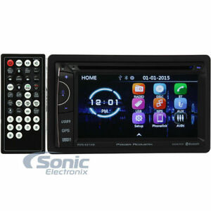 Power Acoustik PDN-621HB Double DIN GPS Navigation In-Dash AM Digital Car Stereo