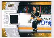 2013-14 SERIES ONE JOE MULLEN JERSEY 1 COLOR PITTSBURGH PENGUINS #GJ-JM GROUP F