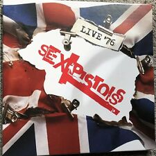 The Sex Pistols - Live 76 4 x Vinyl LP Boxset - New And Sealed