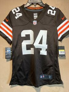 Cleveland Browns Nick Chubb Nike On Field Women's Jersey in size Small NWT