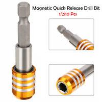 "Magnet Bithalter fü 1/4"" Bits 60mm lang Bit Halterung Bitaufnahme magnetisch Neu"
