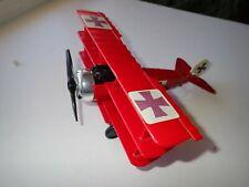 Vintage Tootsietoy Dr-1 Tri-Plane Diecast Toy Airplane