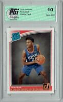 Shai Gilgeous-Alexander 2018 Donruss Basketball #162 Rookie Card PGI 10