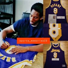 Kobe Bryant Signed Autographed Jersey Purple/Away 8 (James Spence JSA COA)- Rare