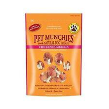 Pet Munchies Chicken Breast Rawhide Dumbbells, pack of 8