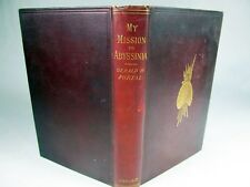 My Mission to Abyssinia by Portal 1892 London Map and illustrations