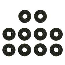 10x Rubber Guitar Strap Lock Block Washer for Acoustic Electric Guitar Bass