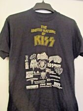 "KISS, Vintage, KISS, ARMY FAN CLUB  ""HOT IN THE SHADE""  TEE- SHIRT PARTY' 1990"