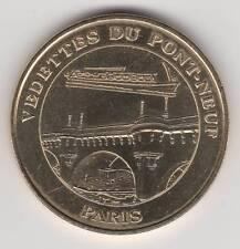 -- 2008 COIN TOKEN JETON MONNAIE DE PARIS -- 75 001 VEDETTES DU PONT-NEUF PARIS