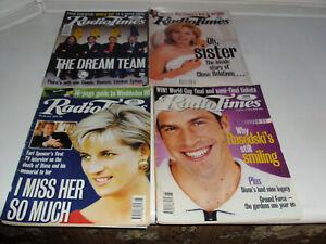 RADIO TIMES 1998 MIX JOB LOT x16