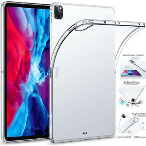 """Apple iPad Pro 12.9"""" 10.2"""" (2020) Clear TPU Back Silicone Cover Case 3rd,4th GEN"""
