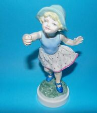 ROYAL WORCESTER Figurine ornament ' Sundays child ,girl  ' #3518 1st Quality